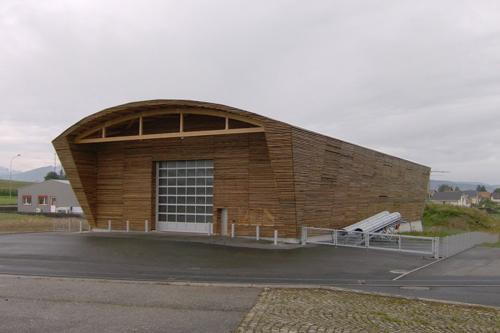 MOA : Etat de Fribourg | MOE : CONRAD LUTZ | Levage : Dany AUBERT