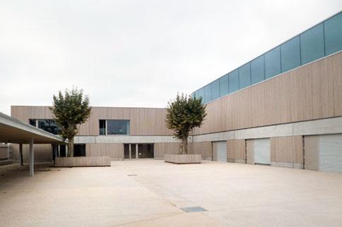 MOA : Ville de ST FONS |MOE : Clément VERGELY Architectes
