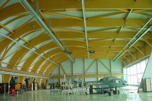 MOA : Ministère de la défense |Client : TRAVAUX DU MIDI | MOE : Service spécial bases aériennes sud est
