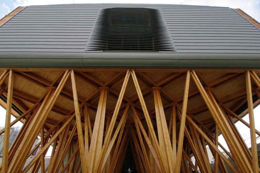 Maître d'Ouvrage:Région Rhône Alpes -Maître d'Oeuvre: RK Architectes -Bureaux d'Etudes: ANGLADE Structures Bois
