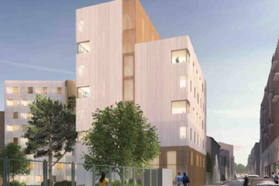 CROUS Lucien Cornil - C=A+ Architecte